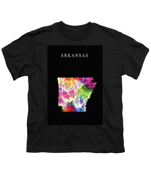 Arkansas State Youth T-Shirt by Daniel Hagerman
