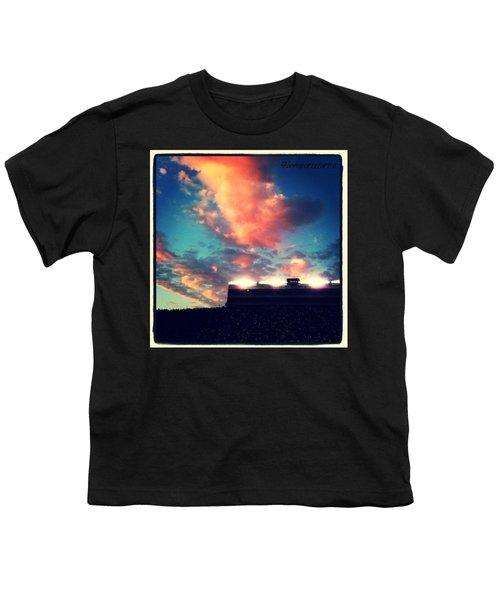 Autzen Stadium At Night - Go Ducks! Youth T-Shirt