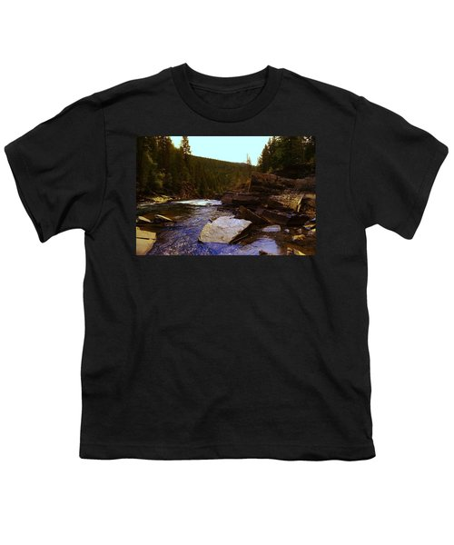 Beautiful Yak River Montana Youth T-Shirt