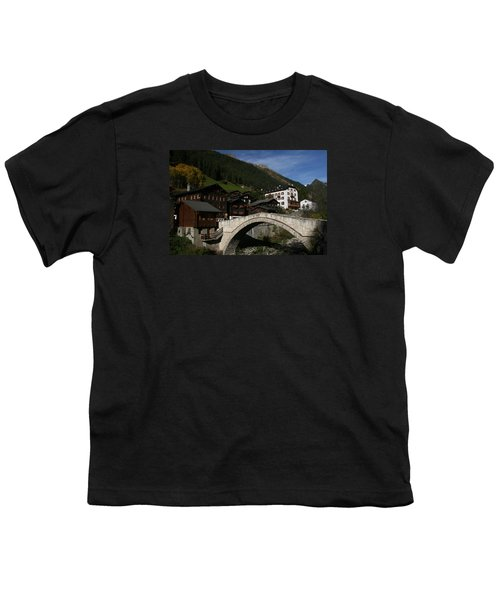 Youth T-Shirt featuring the photograph Binn by Travel Pics
