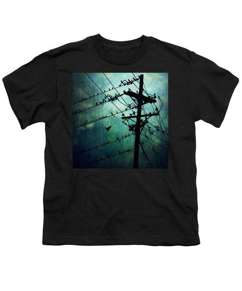 Bird City Youth T-Shirt by Trish Mistric
