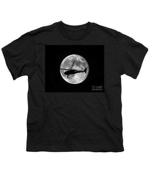 Black Hawk Moon Youth T-Shirt