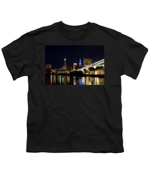 Blues In Cleveland Ohio Youth T-Shirt