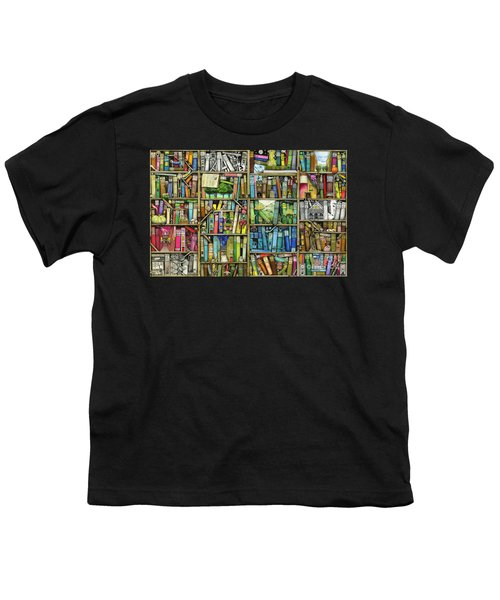 Bookshelf Youth T-Shirt
