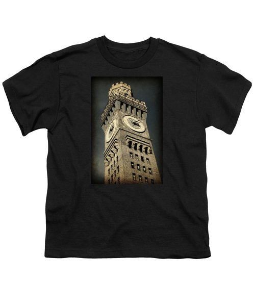 Bromo Seltzer Tower No 7 Youth T-Shirt