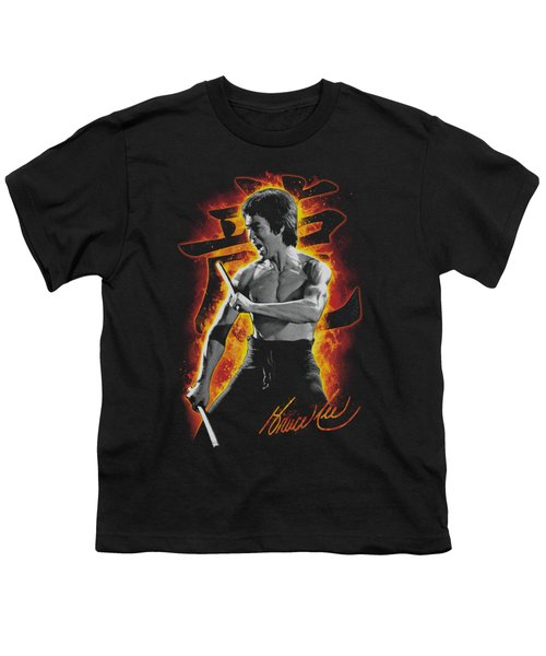 Bruce Lee - Dragon Fire Youth T-Shirt