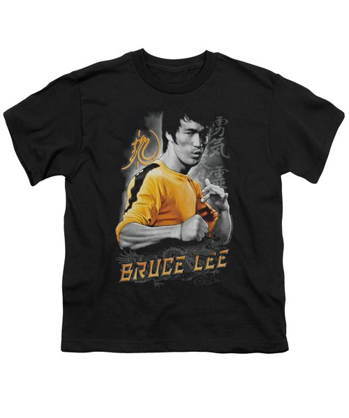 Bruce Lee - Yellow Dragon Youth T-Shirt