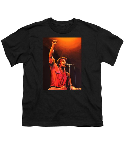 Bruce Springsteen Painting Youth T-Shirt