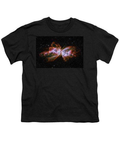 Butterfly Nebula Ngc6302 Youth T-Shirt