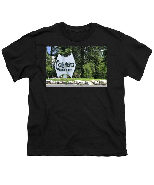 Cal Neva Resort - Lake Tahoe Youth T-Shirt