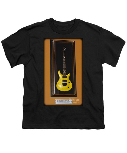 Youth T-Shirt featuring the photograph Carlos Santana's Guitar by Gary Keesler