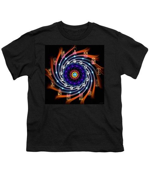 Celtic Tarot Moon Cycle Zodiac Youth T-Shirt