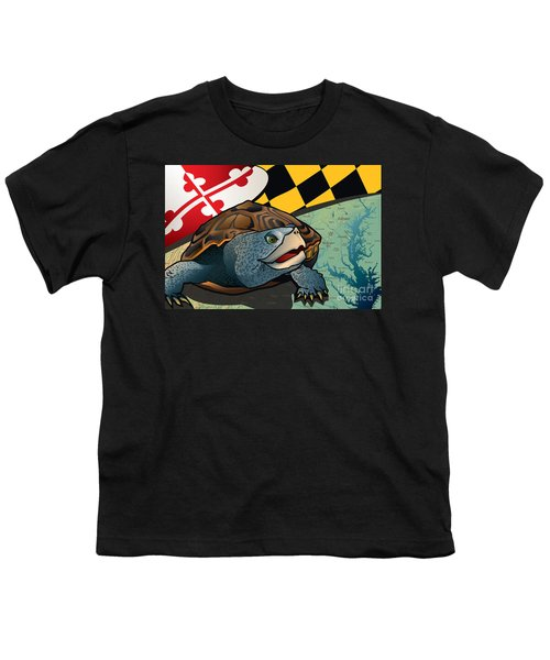 Citizen Terrapin Maryland's Turtle Youth T-Shirt by Joe Barsin