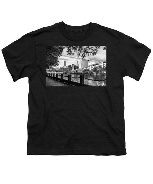 Cleveland River Cityscape Youth T-Shirt