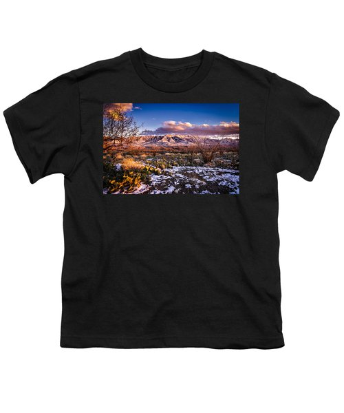 Youth T-Shirt featuring the photograph Colors Of Winter by Mark Myhaver