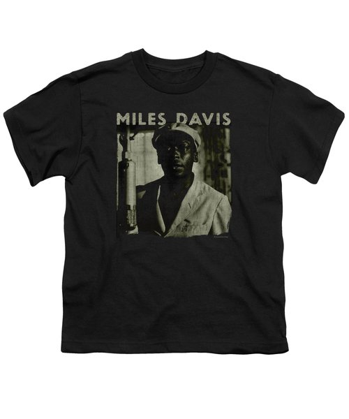 Concord Music - Miles Portrait Youth T-Shirt