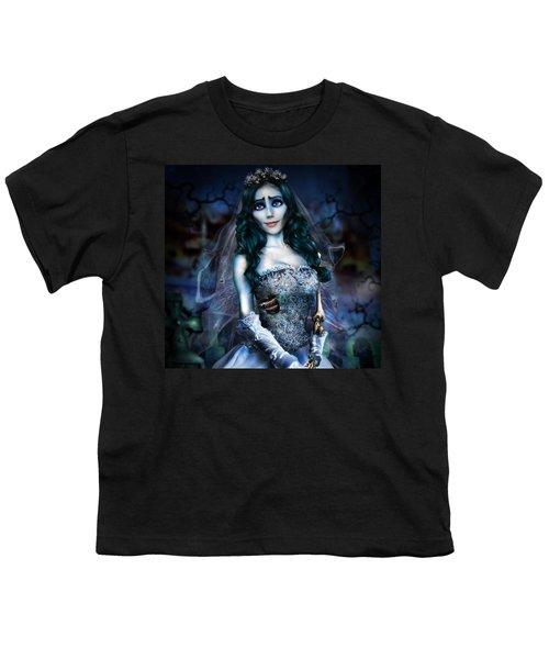 Corpse Bride Youth T-Shirt by Alessandro Della Pietra