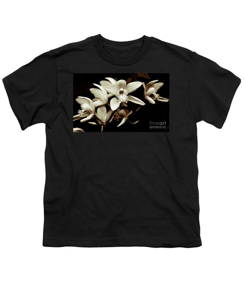 Cymbidium Orchids Youth T-Shirt