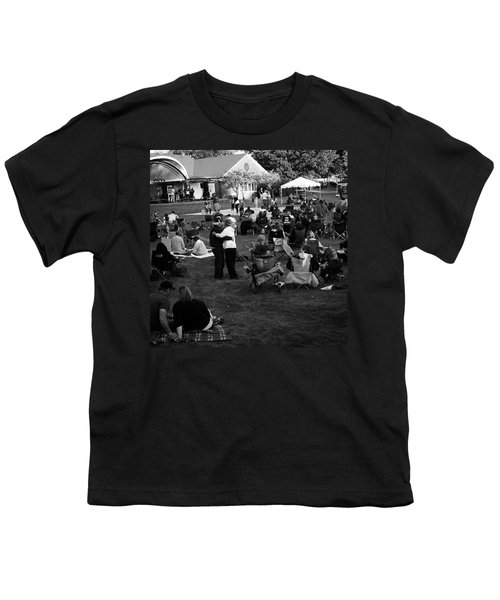 Dancing In The Park Youth T-Shirt