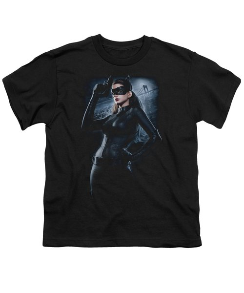 Dark Knight Rises - Out On The Town Youth T-Shirt