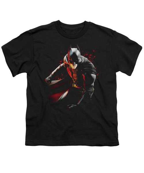 Dark Knight Rises - Ready To Punch Youth T-Shirt