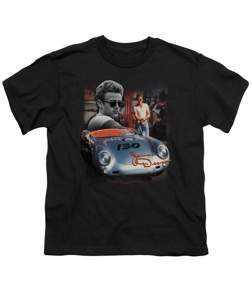 Dean - Sunday Drive Youth T-Shirt by Brand A