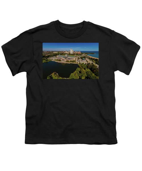 Elevated View Of The Museum Of Science Youth T-Shirt