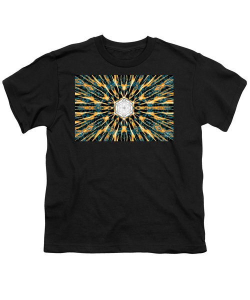 Fabric Of The Universe Youth T-Shirt by Derek Gedney