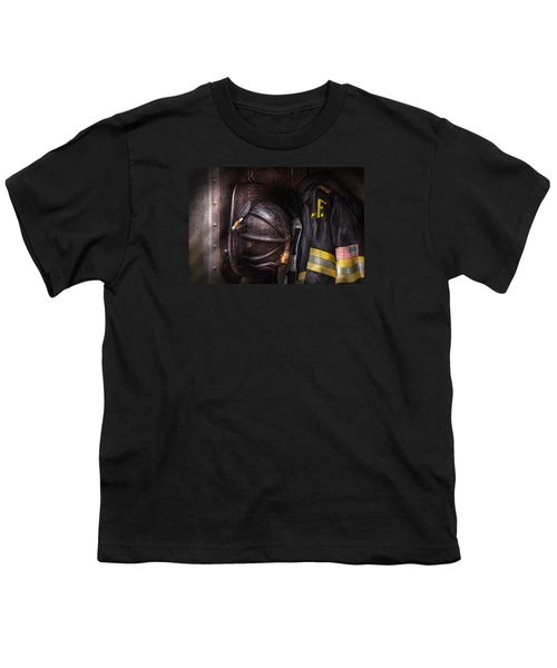 Fireman - Worn And Used Youth T-Shirt