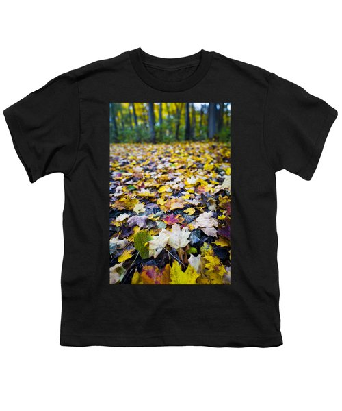 Youth T-Shirt featuring the photograph Foliage by Sebastian Musial