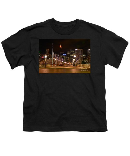 Foot Bridge By Night Youth T-Shirt