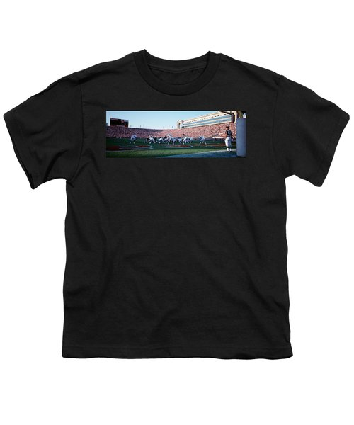 Football Game, Soldier Field, Chicago Youth T-Shirt
