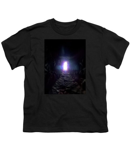 Youth T-Shirt featuring the photograph From Dark To Bright by Marc Philippe Joly