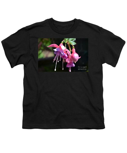 Fuchsia Flower Youth T-Shirt