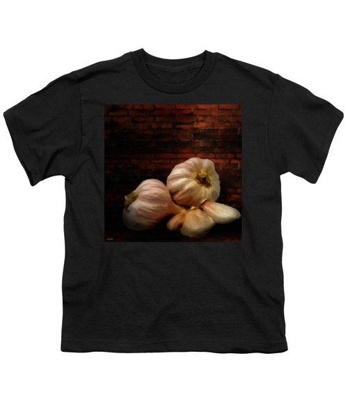 Garlic Youth T-Shirt by Lourry Legarde