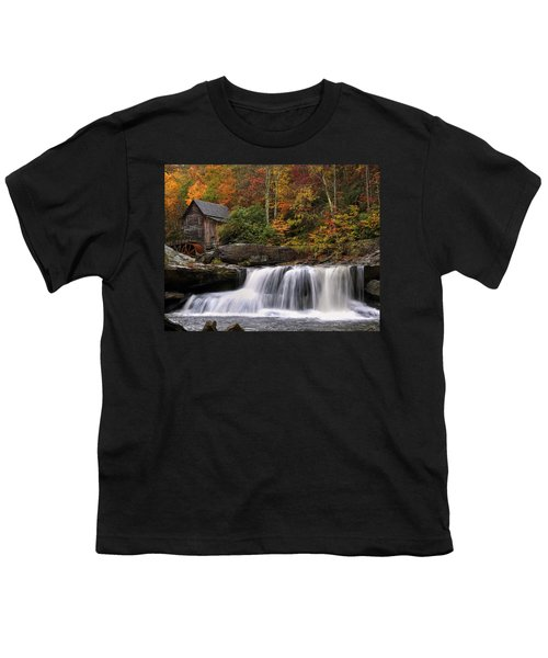 Glade Creek Grist Mill - Photo Youth T-Shirt