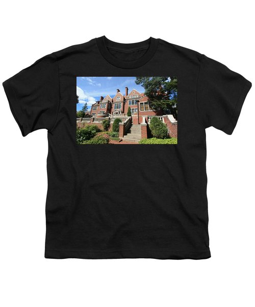 Glensheen Mansion Exterior Youth T-Shirt by Amanda Stadther
