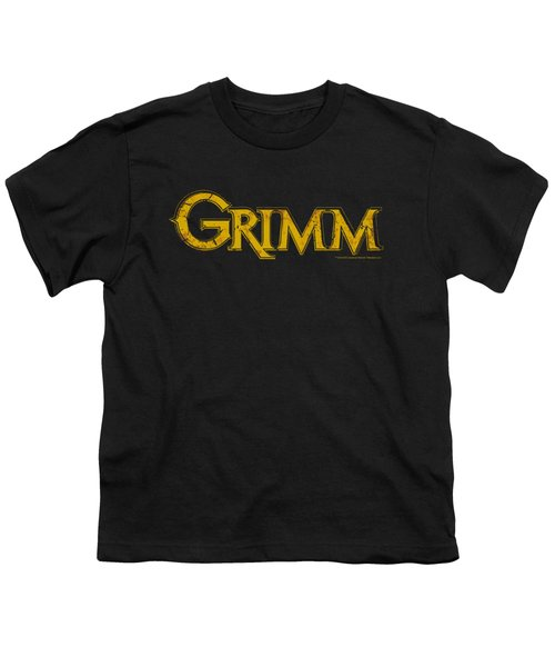 Grimm - Gold Logo Youth T-Shirt