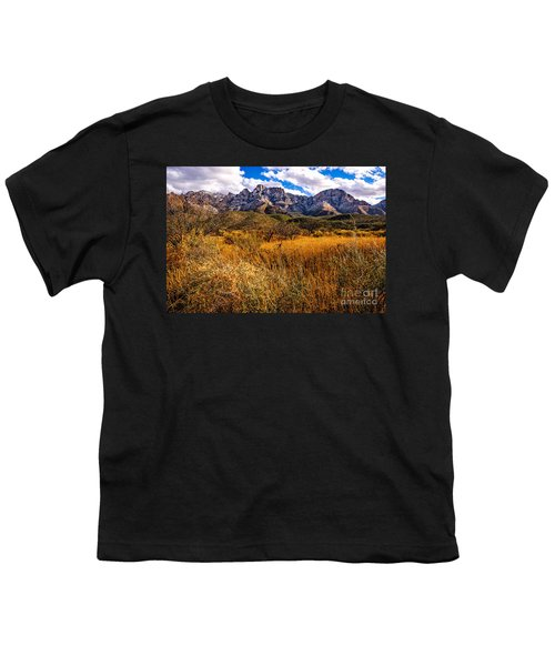 Youth T-Shirt featuring the photograph Here To There by Mark Myhaver