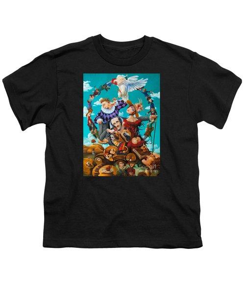 His Majesty Edgar Allan Poe Youth T-Shirt