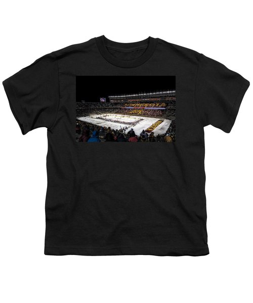 Hockey City Classic Youth T-Shirt by Tom Gort