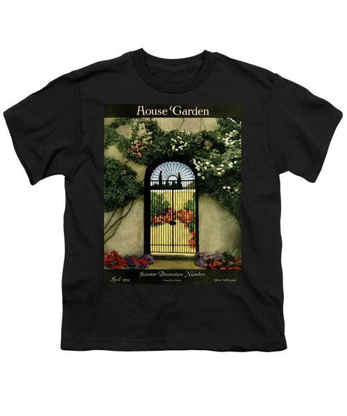 House And Garden Interior Decoration Number Youth T-Shirt