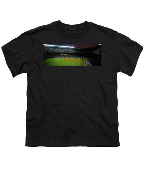 Interiors Of A Stadium, Yankee Stadium Youth T-Shirt