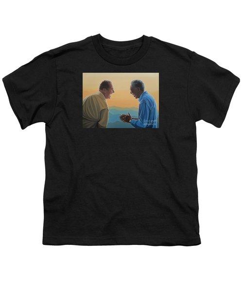 Jack Nicholson And Morgan Freeman Youth T-Shirt