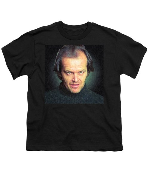 Jack Torrance Youth T-Shirt by Taylan Apukovska