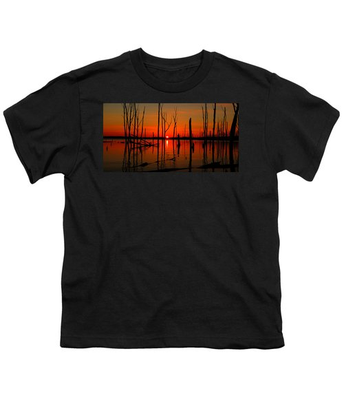 January Sunrise Youth T-Shirt