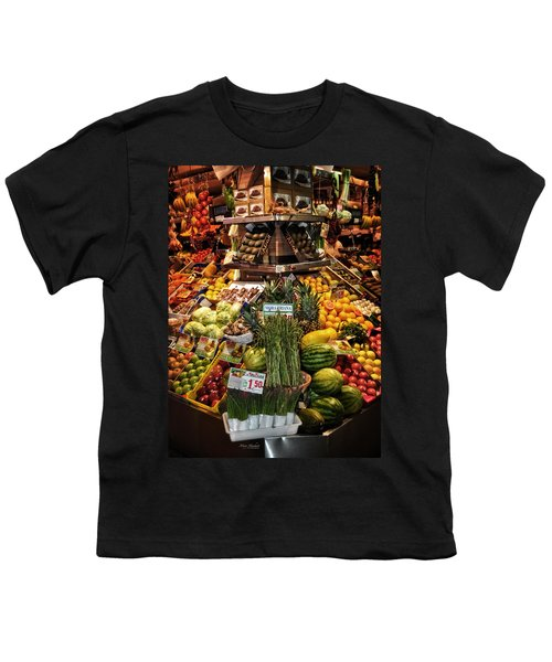 Jewels From The Market  Youth T-Shirt by Mary Machare