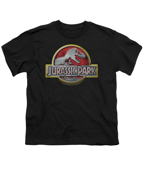 Jurassic Park - Logo Youth T-Shirt by Brand A
