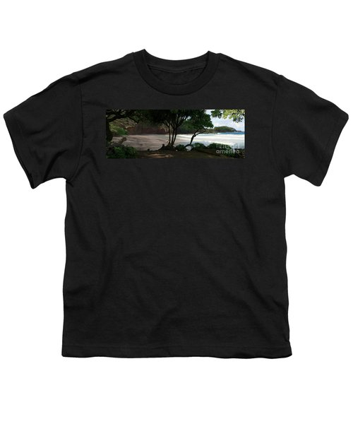 Koki Beach Hana Maui Hawaii Youth T-Shirt