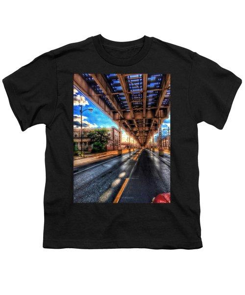 Lake Street El Tracks Youth T-Shirt